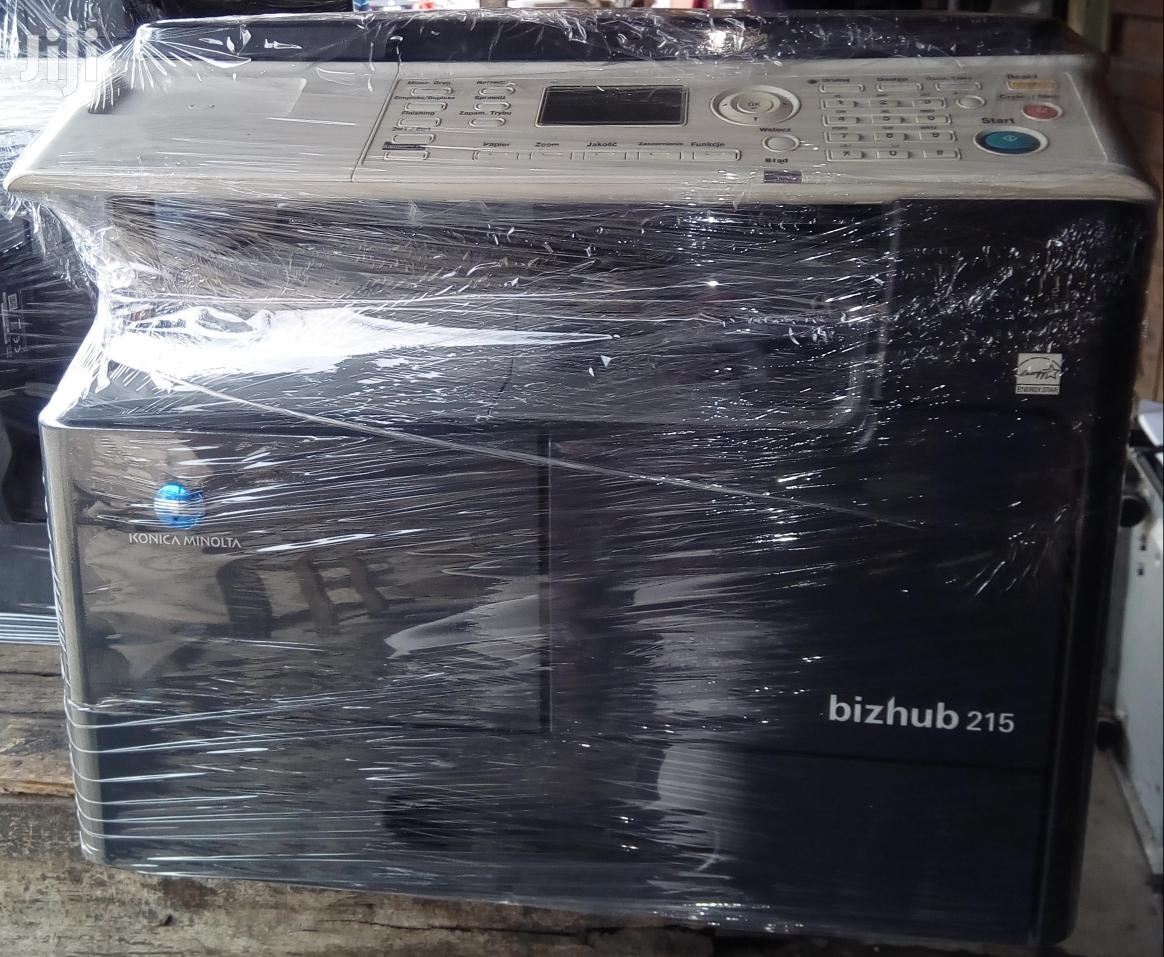 Konica Minolta Bizhub 215 Photocopier With Flap Cover | Printers & Scanners for sale in Surulere, Lagos State, Nigeria