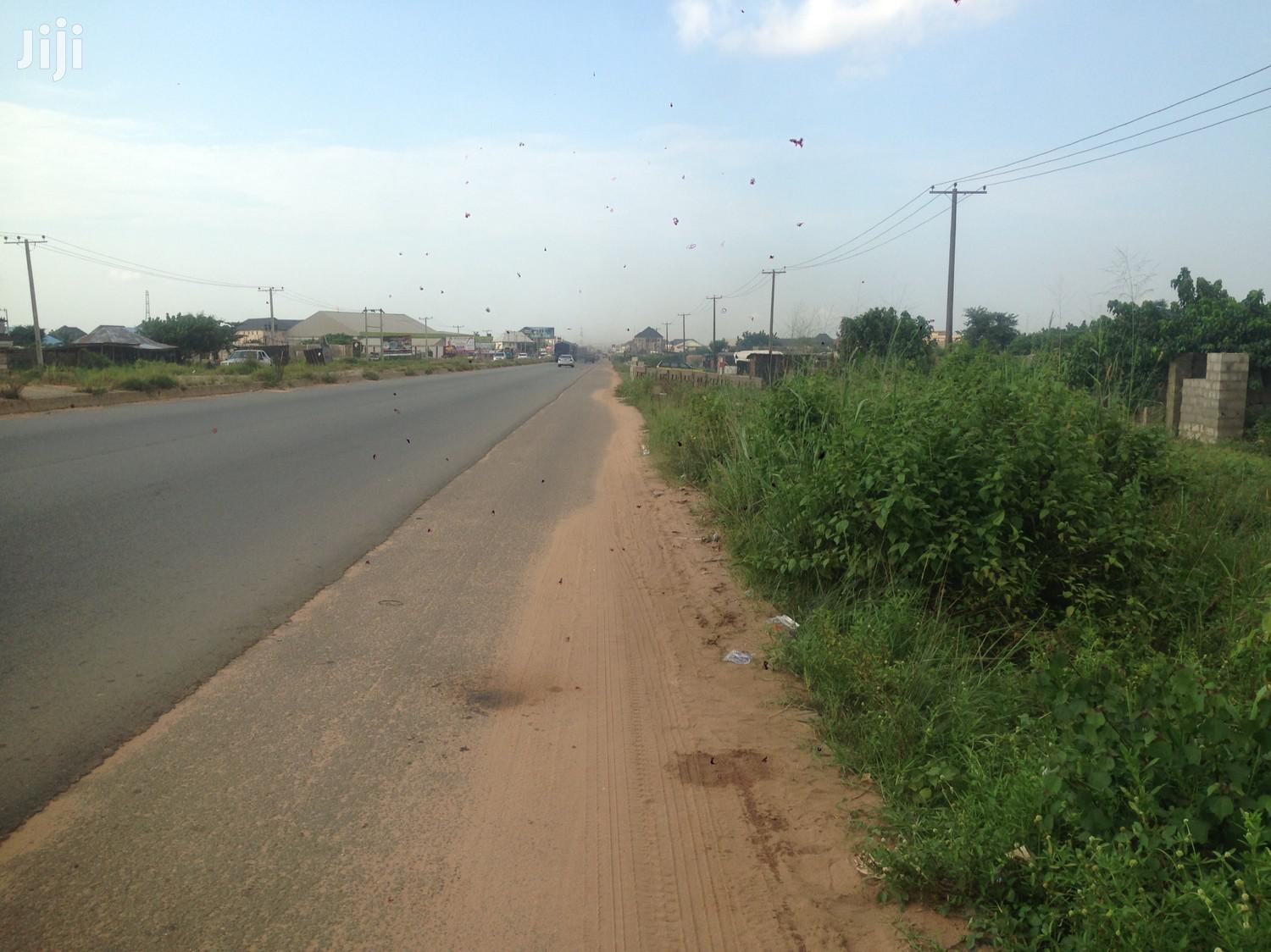 1 Plot of Land Located Along Portharcourt Road After Apams for Sale.