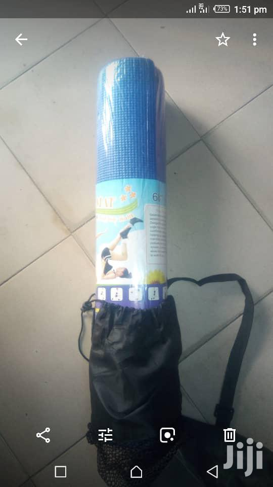 Yoga Exercise Mat   Sports Equipment for sale in Ikeja, Lagos State, Nigeria