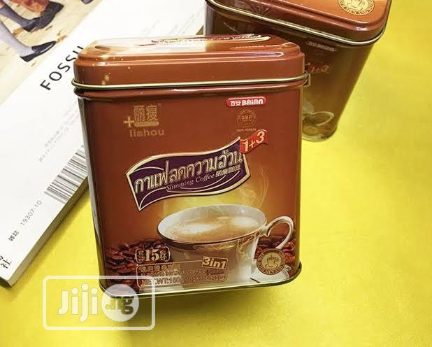 Lishou Slimming Coffee | Vitamins & Supplements for sale in Lagos State, Nigeria