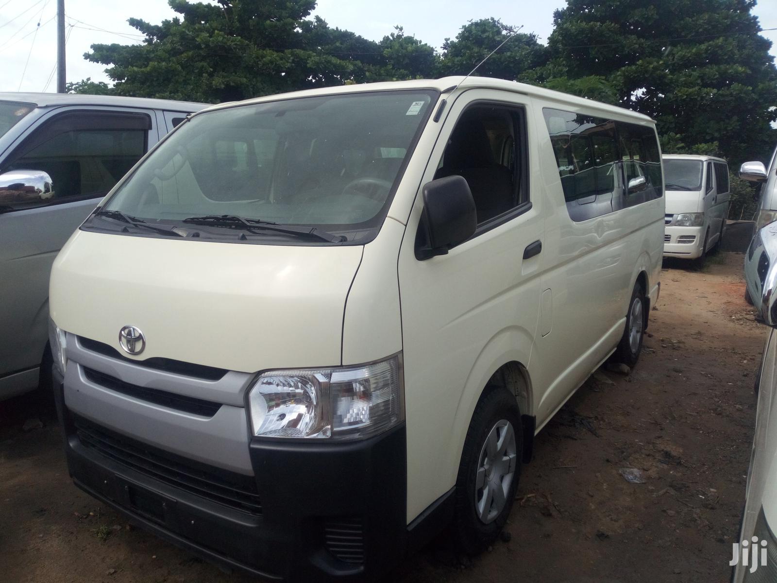 Toyota HiAce 2016 White | Buses & Microbuses for sale in Apapa, Lagos State, Nigeria