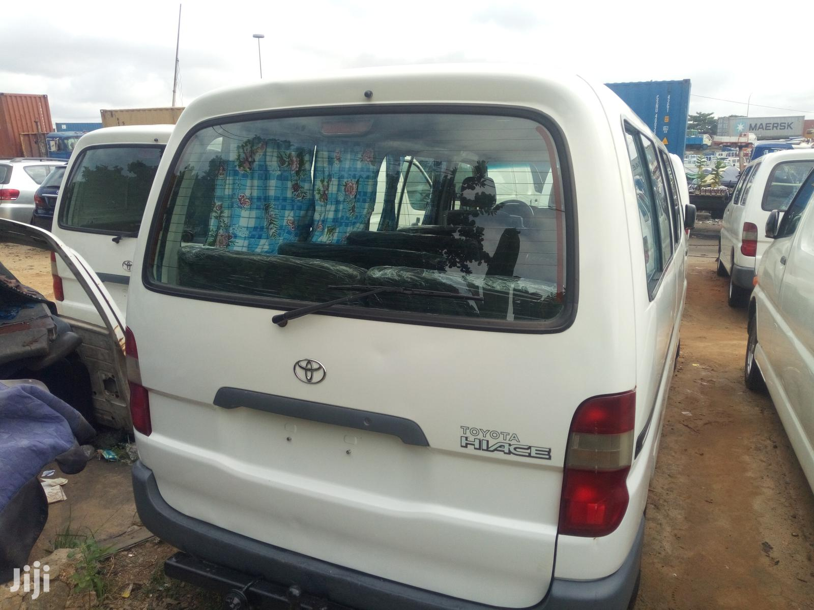 Toyota HiAce 1998 White | Buses & Microbuses for sale in Apapa, Lagos State, Nigeria