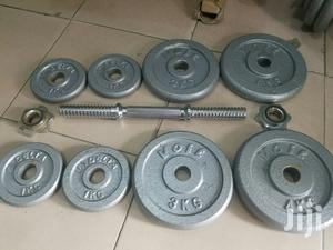 40kg Iron Adjustable Dumbells | Sports Equipment for sale in Lagos State, Ikeja