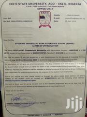 The clerical adminstive cv | Internship CVs for sale in Lagos State, Alimosho