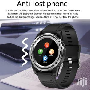 Bluetooth Smartwatch With SIM Memory Card Slot (2019 Model) - Silver | Smart Watches & Trackers for sale in Lagos State, Ikeja