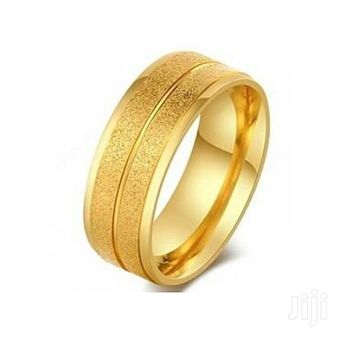 Archive: Fashion Shiny Stainless Steel Wedding Ring