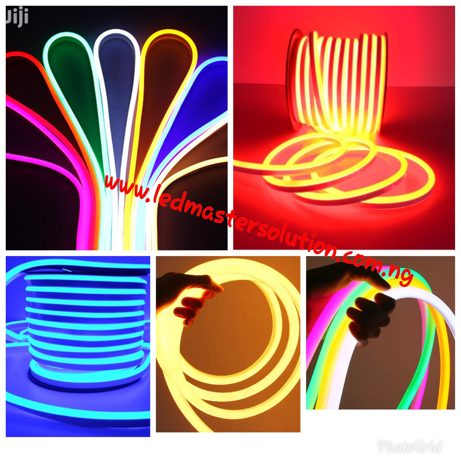 LED Neon And Silicon Rope Light in Lagos Island (Eko) - Home Accessories,  Ledmaster Solution Victor Obiora | Jiji.ng