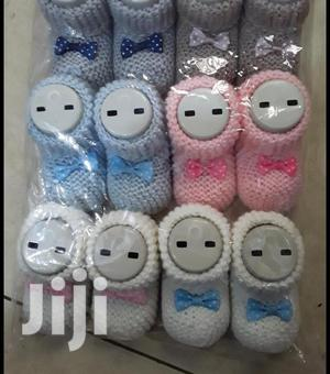 Knitted Baby Booties 6 Pairs | Baby & Child Care for sale in Lagos State, Ikeja