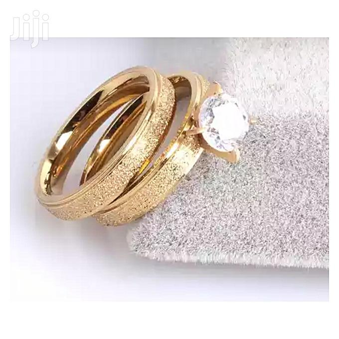Archive: Fashion 24karat Gold Filled Wedding Ring - Pair for Couple