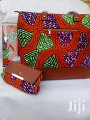 Executive Ankara Handbag With Clutch Purse | Bags for sale in Lagos State, Ikeja