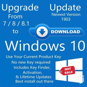 Windows 7 8 8.1 Pro / Home Upgrade to Windows 10 | Software for sale in Lagos State, Ojodu