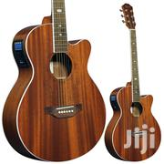 Semi Acoustic Guitar, With Bag, Belt and Cord | Musical Instruments & Gear for sale in Lagos State, Ikeja