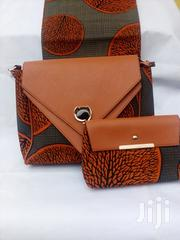 Affordable 3 in 1 Ankara Handbag With 6 Yards Hollandais | Bags for sale in Lagos State, Ikeja