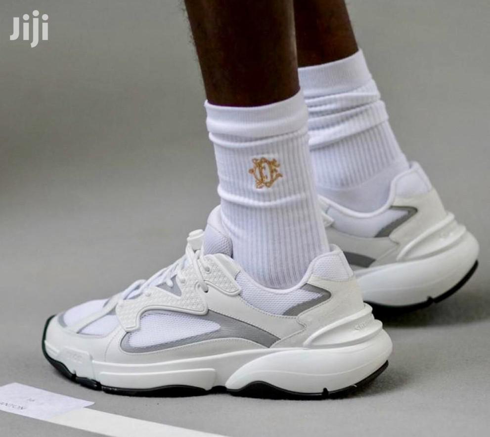 "Dior White ""B24"" Sneaker in Ikoyi"