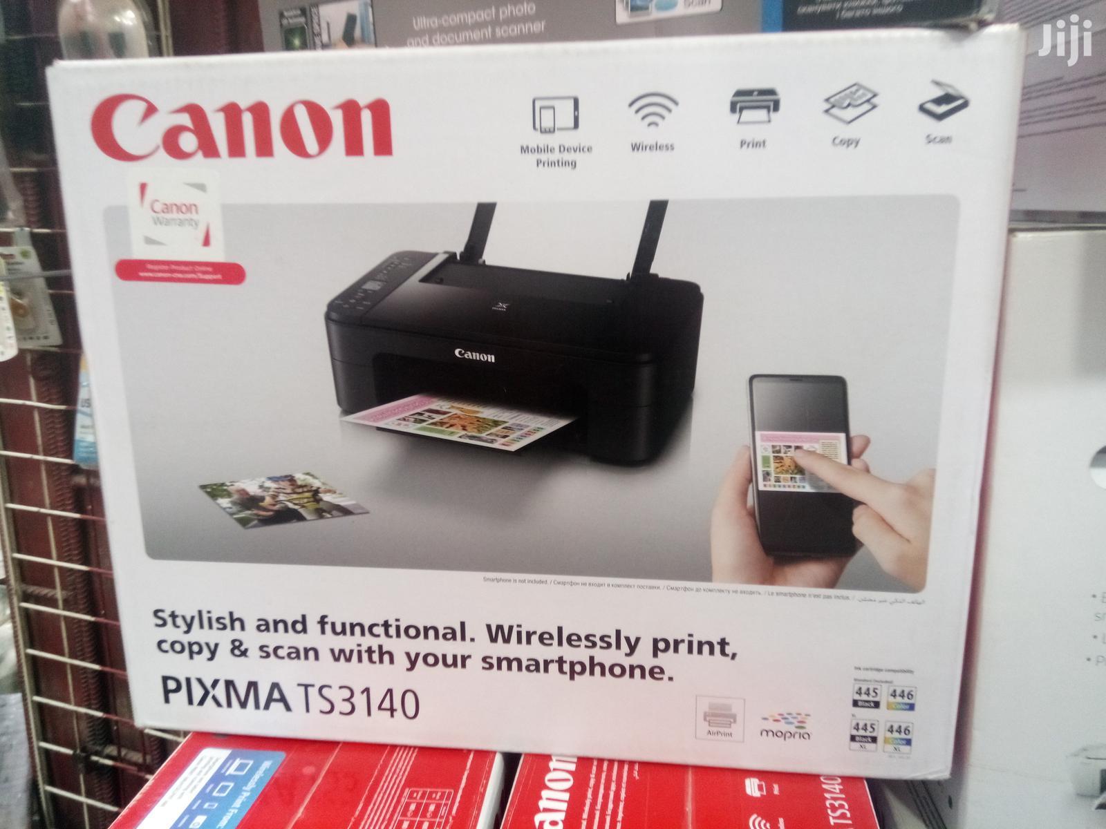 Canon Pixma TS3140 AIO Wireless Printer Print, Scan Copy | Printers & Scanners for sale in Alimosho, Lagos State, Nigeria