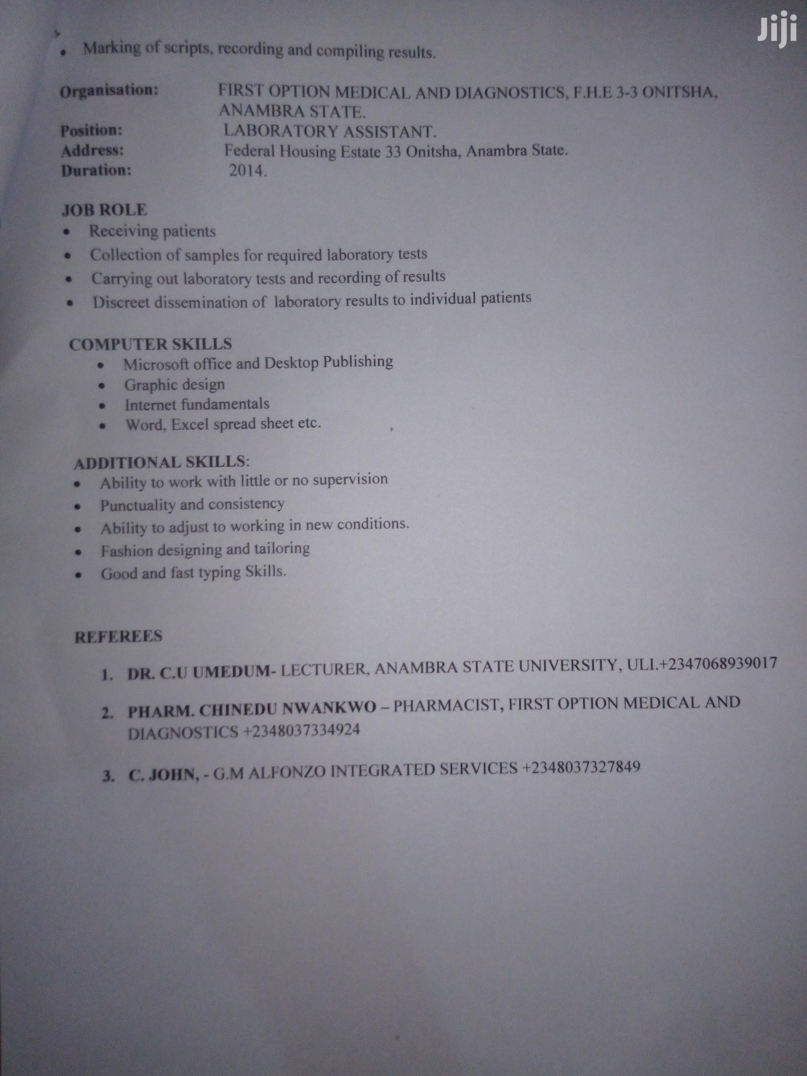 Teaching CV   Teaching CVs for sale in Ifako-Ijaiye, Lagos State, Nigeria
