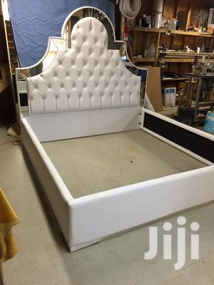 Malia Upholstery Leather Bed It Have 2bedside Drawer | Furniture for sale in Lagos State, Lekki