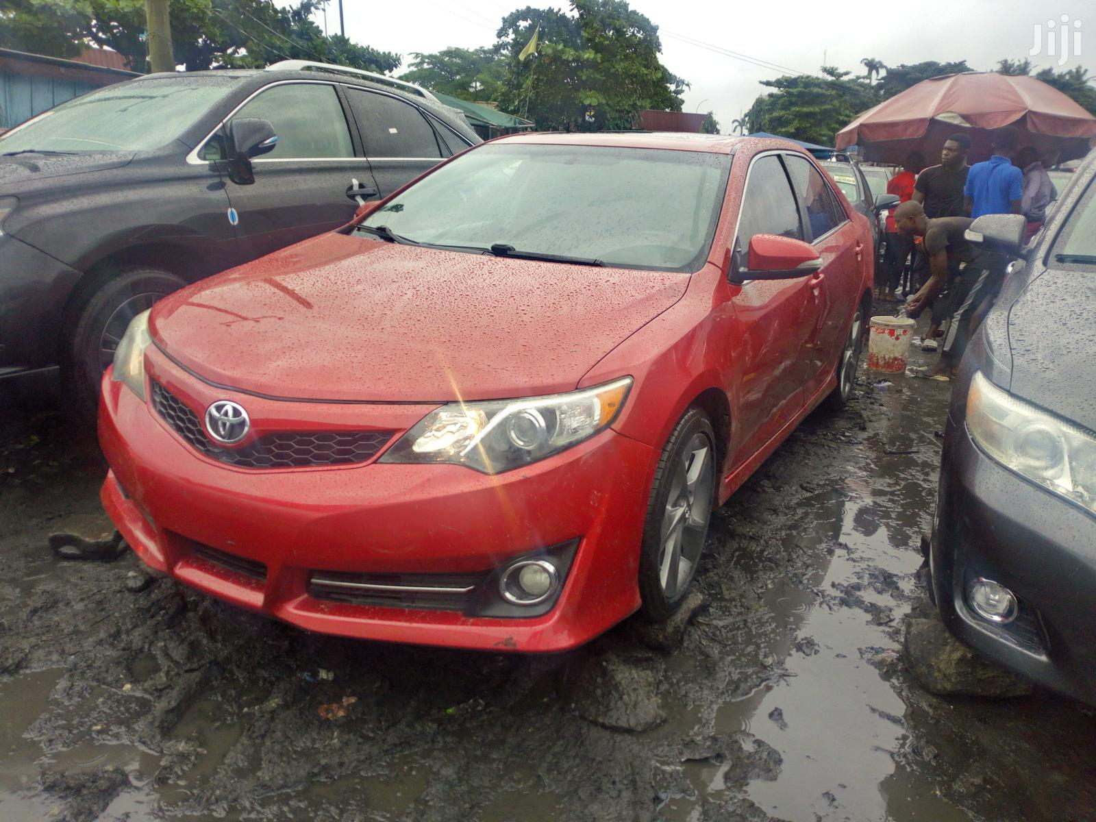 Toyota Camry 2013 Red | Cars for sale in Amuwo-Odofin, Lagos State, Nigeria
