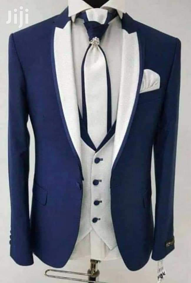 Archive: Elegant Blue Tuxedo Wedding and Dinner Suits by Goldencanary