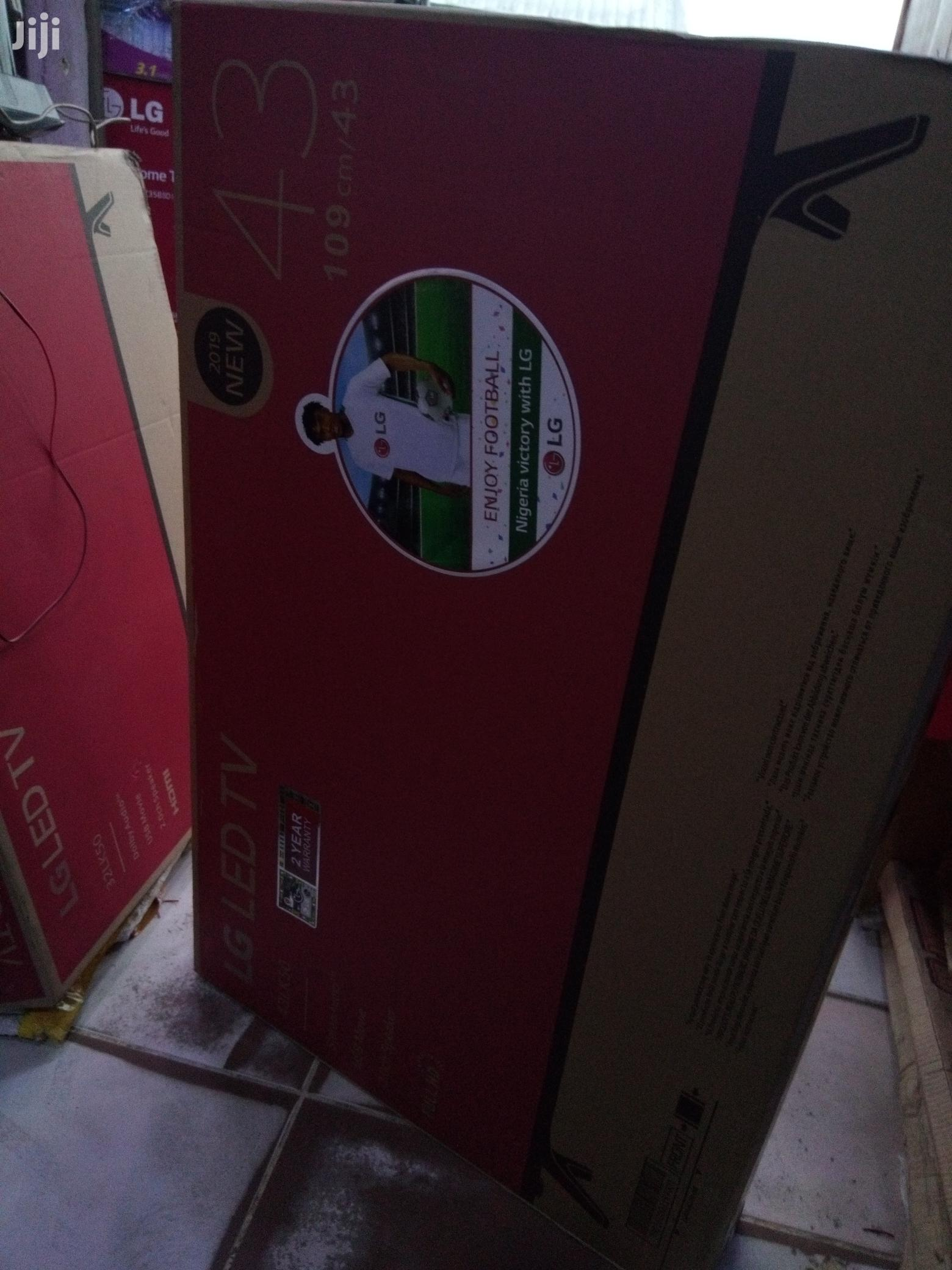 Brand New LG LED TV 43 Inches | TV & DVD Equipment for sale in Port-Harcourt, Rivers State, Nigeria