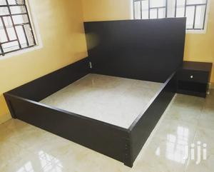 Available Bed Frame 6x6 With 2bedside Drawer | Furniture for sale in Lagos State, Surulere