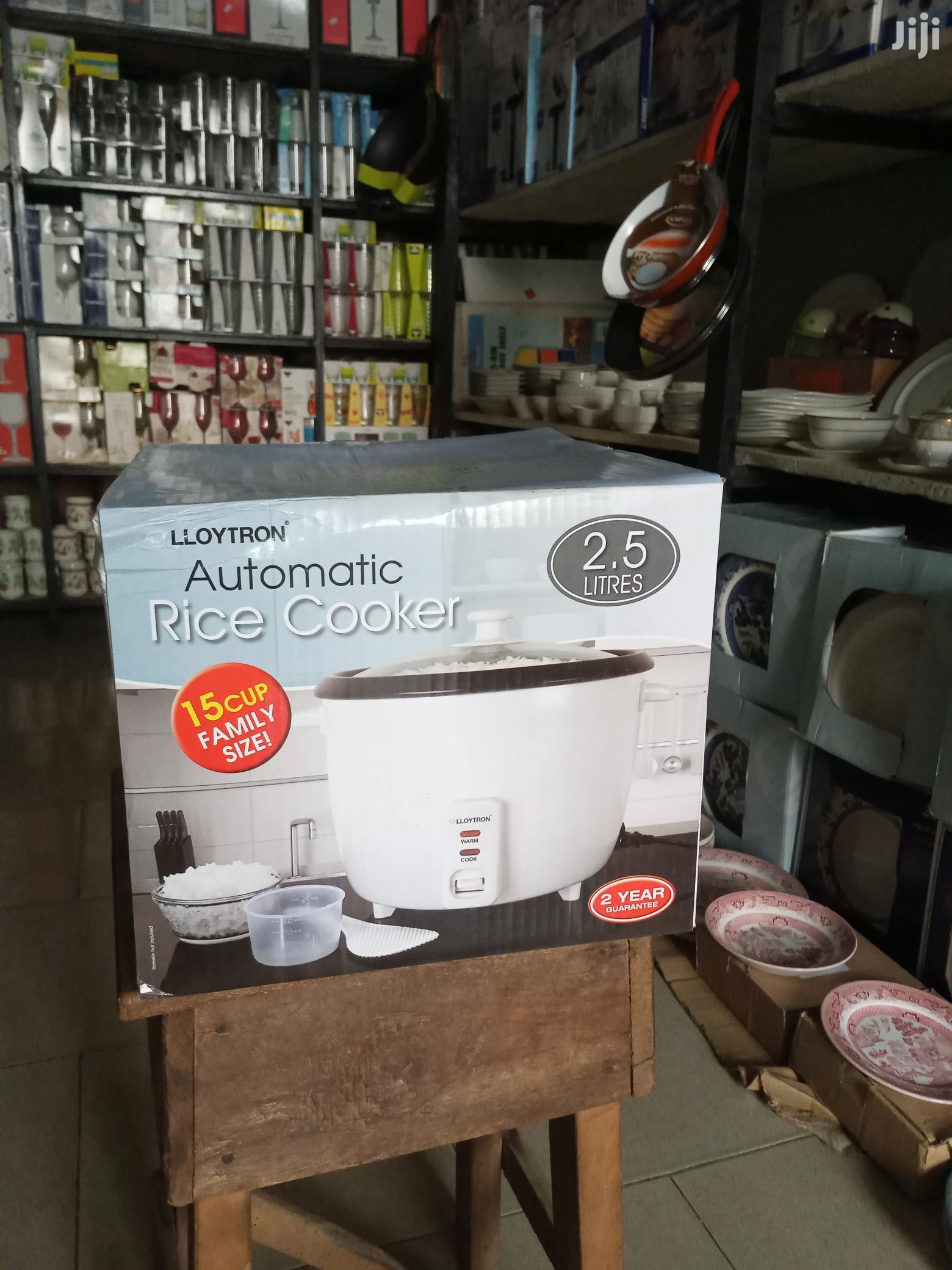 Lloytron Automatic Rice Cooker