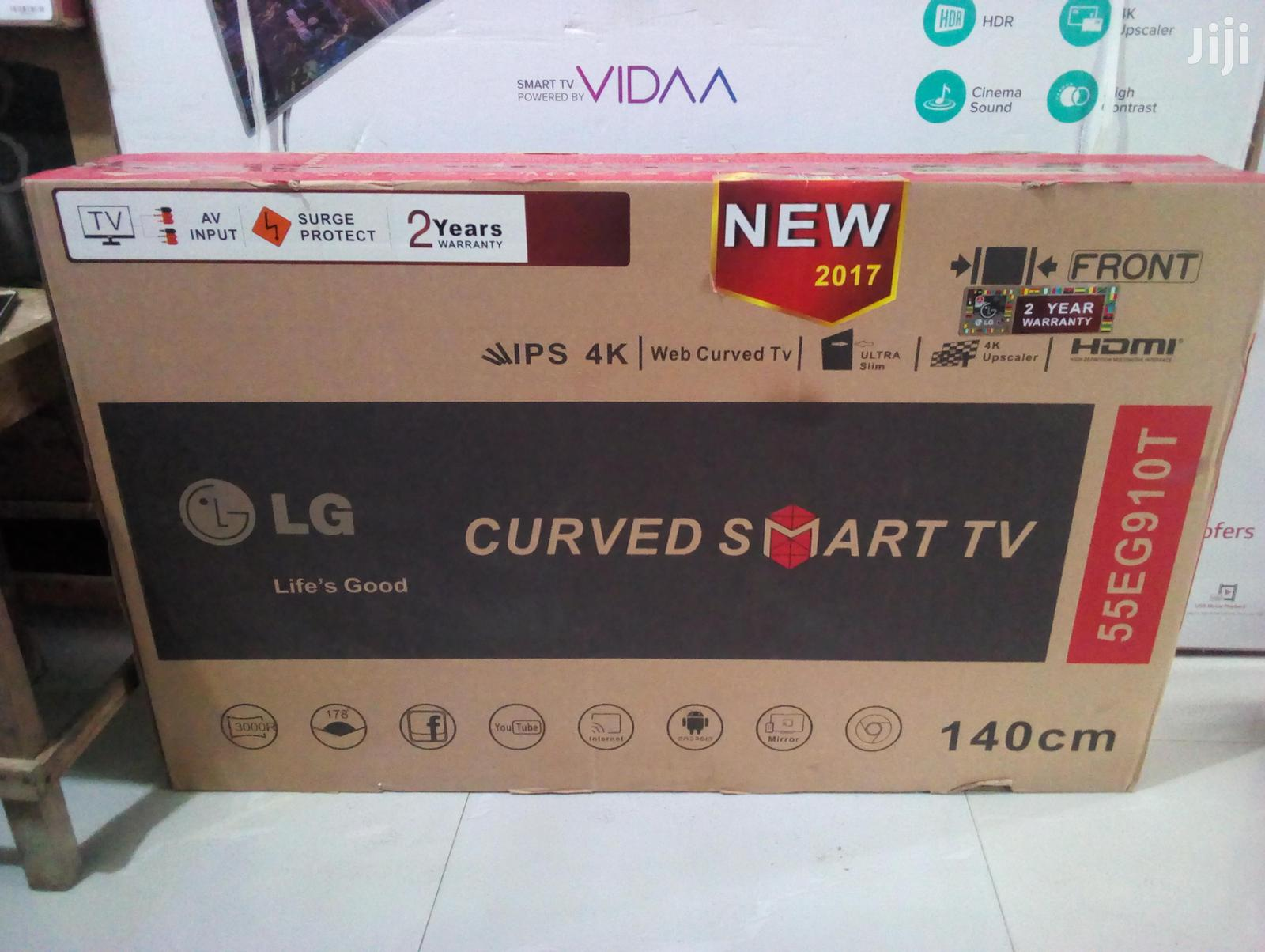 LG 55 Inches Curve Smart Led Television