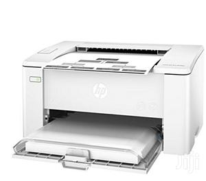HP M102a Laserjet Pro Printer (Black And White)   Printers & Scanners for sale in Lagos State, Ikeja