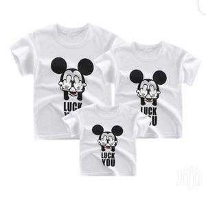 Parent-child Shirt/Siblings Shirt   Children's Clothing for sale in Edo State, Ikpoba-Okha