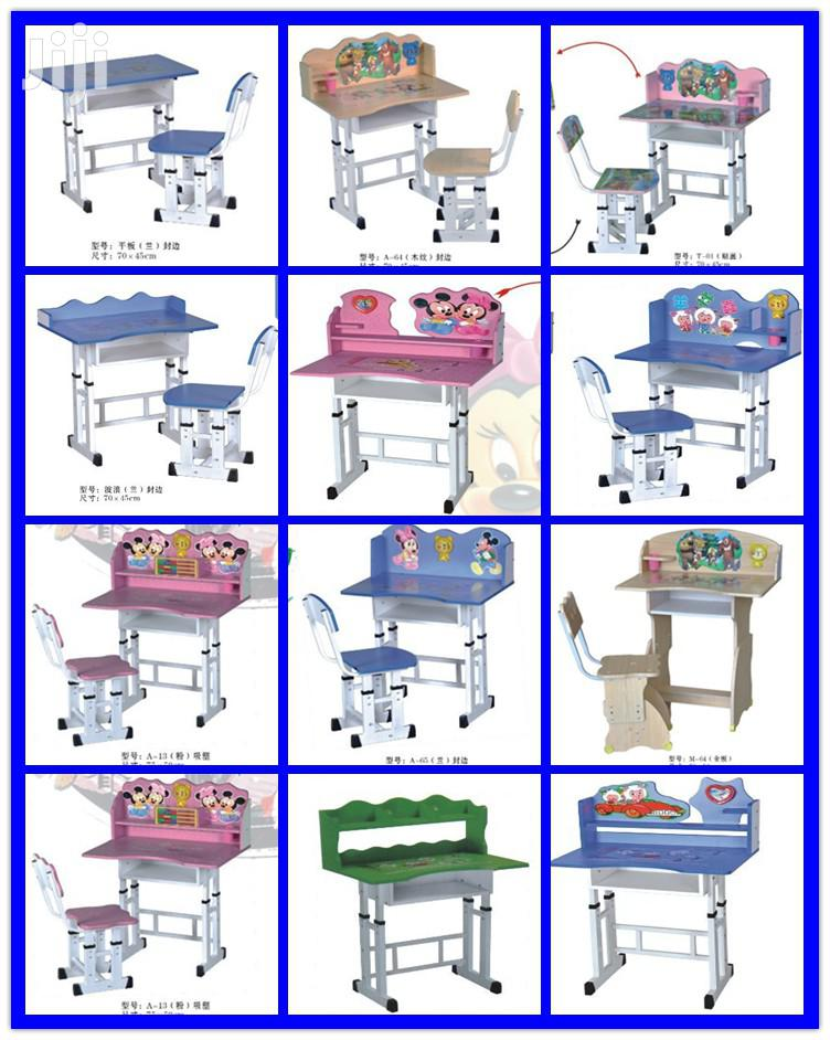 Archive: Adjustable Children/Kids Study Table And Chair