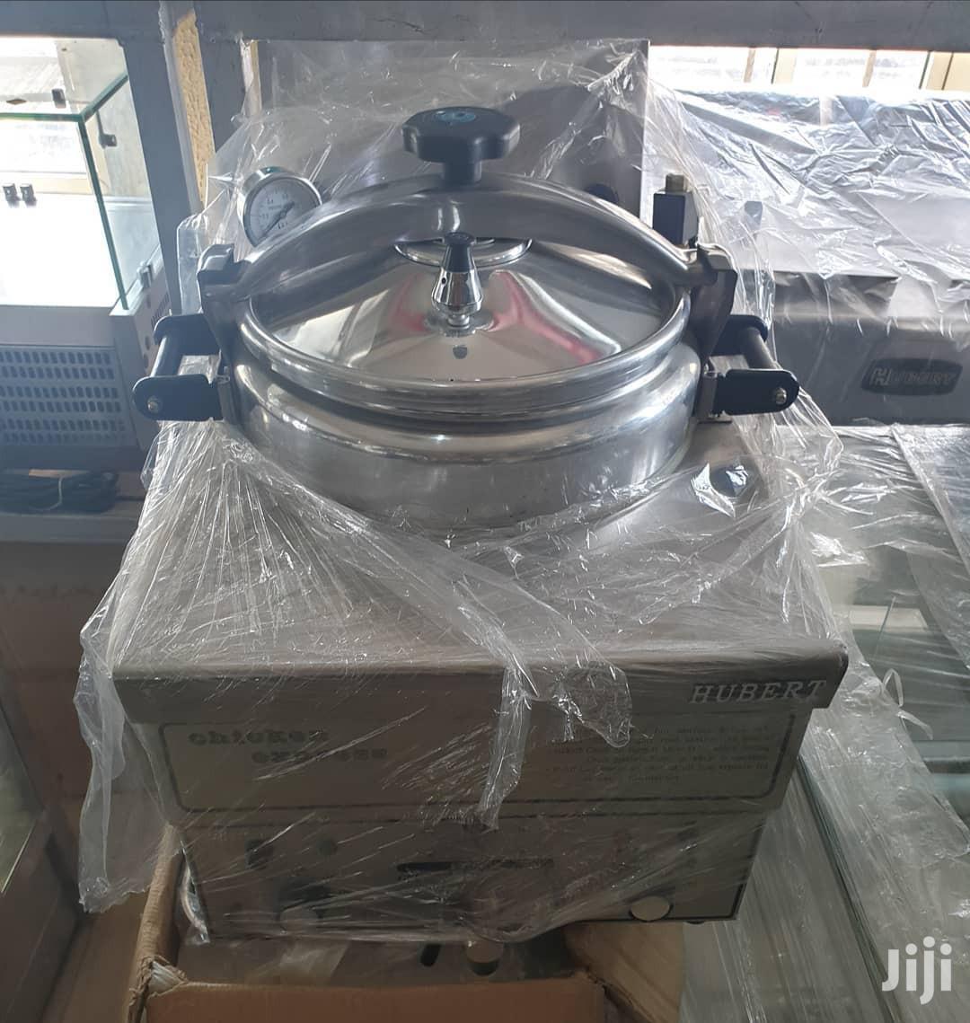 Electric Pressure Fryer