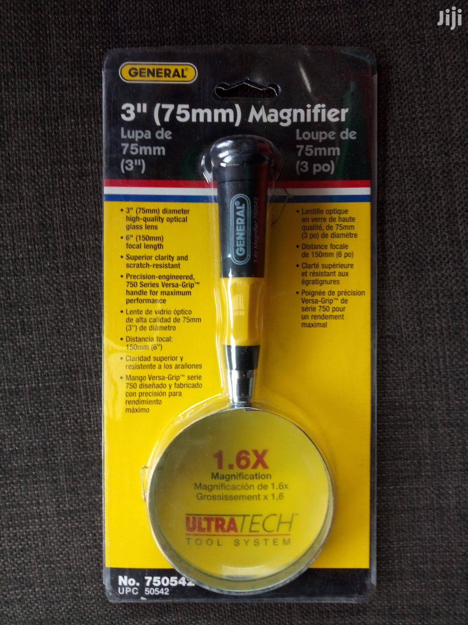 General Tools 750542 Glass Magnifier, 3-inch | Stationery for sale in Port-Harcourt, Rivers State, Nigeria