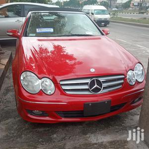 Mercedes-Benz CLK 2008 350 Coupe Red   Cars for sale in Lagos State, Ikeja