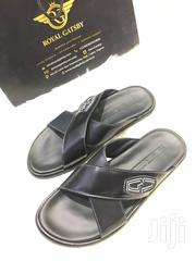 Giovanni Conti Italian Leather Sandal Slippers | Shoes for sale in Abuja (FCT) State, Maitama