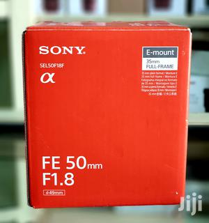 Sony FE 50mm F1.8 Full Frame Lens For Sony E Mount   Accessories & Supplies for Electronics for sale in Lagos State, Ikeja
