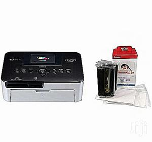Canon Selphy CP1000 Photo Printer + Color Ink Paper Set   Printers & Scanners for sale in Lagos State, Ikeja