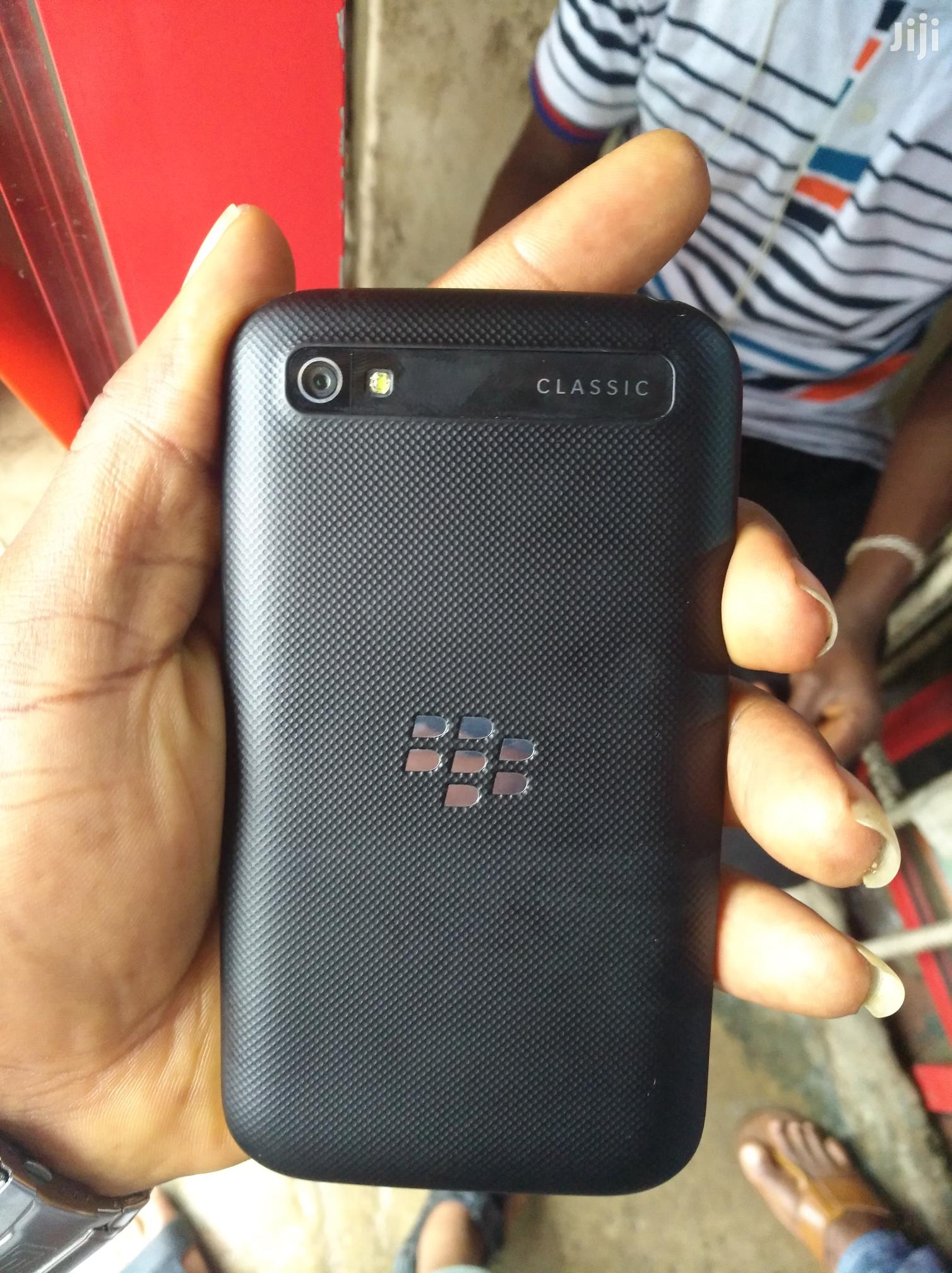 Uk Used BlackBerry Classic 16 GB | Mobile Phones for sale in Ikeja, Lagos State, Nigeria