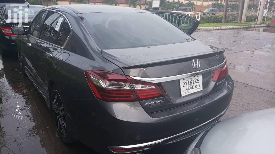 Honda Accord 2017 Gray   Cars for sale in Ikeja, Lagos State, Nigeria