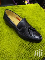 Black John Foster Leather Shoes | Shoes for sale in Lagos State, Lagos Island