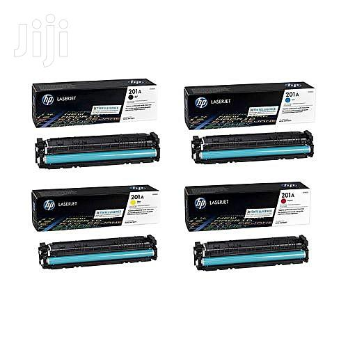 HP Genuine 201a Toner Cartridge All Colours in One Shipping   Accessories & Supplies for Electronics for sale in Ikeja, Lagos State, Nigeria