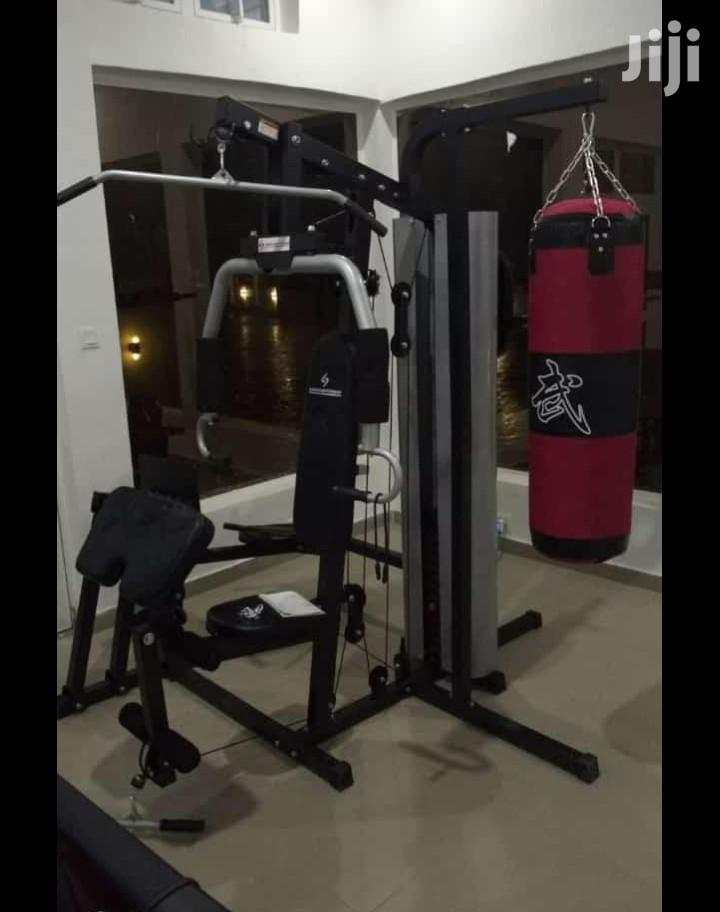 Archive: American Fitness Commercial 3 Station Gym