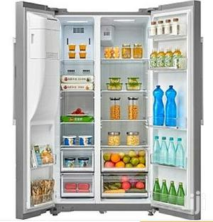 Midea 488 Liters Side by Side Fridge With Water Dispenser | Kitchen Appliances for sale in Lagos State, Lekki