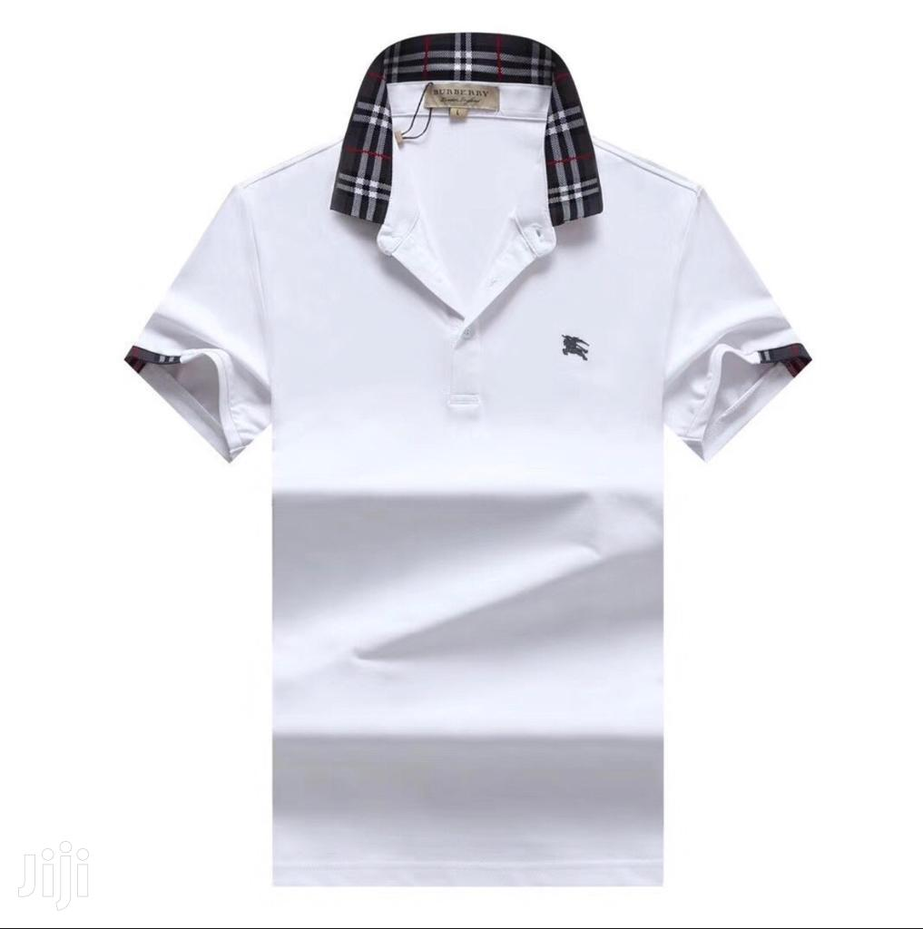 Archive: Authentic White Designer's Polo Tshirts by Burberry