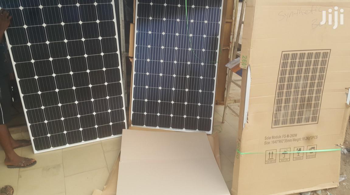 250W Monocrystalline Solar Panels
