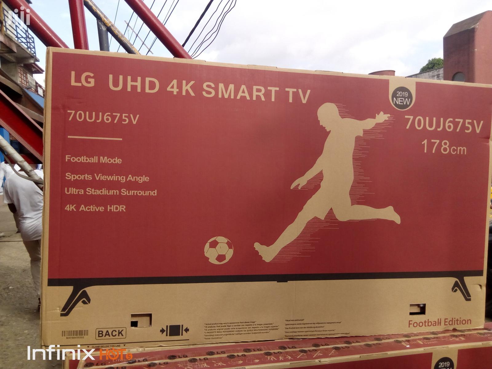 "LG Smart Internet Uhd 4K Fullhd TV 70""Inches   TV & DVD Equipment for sale in Ojo, Lagos State, Nigeria"
