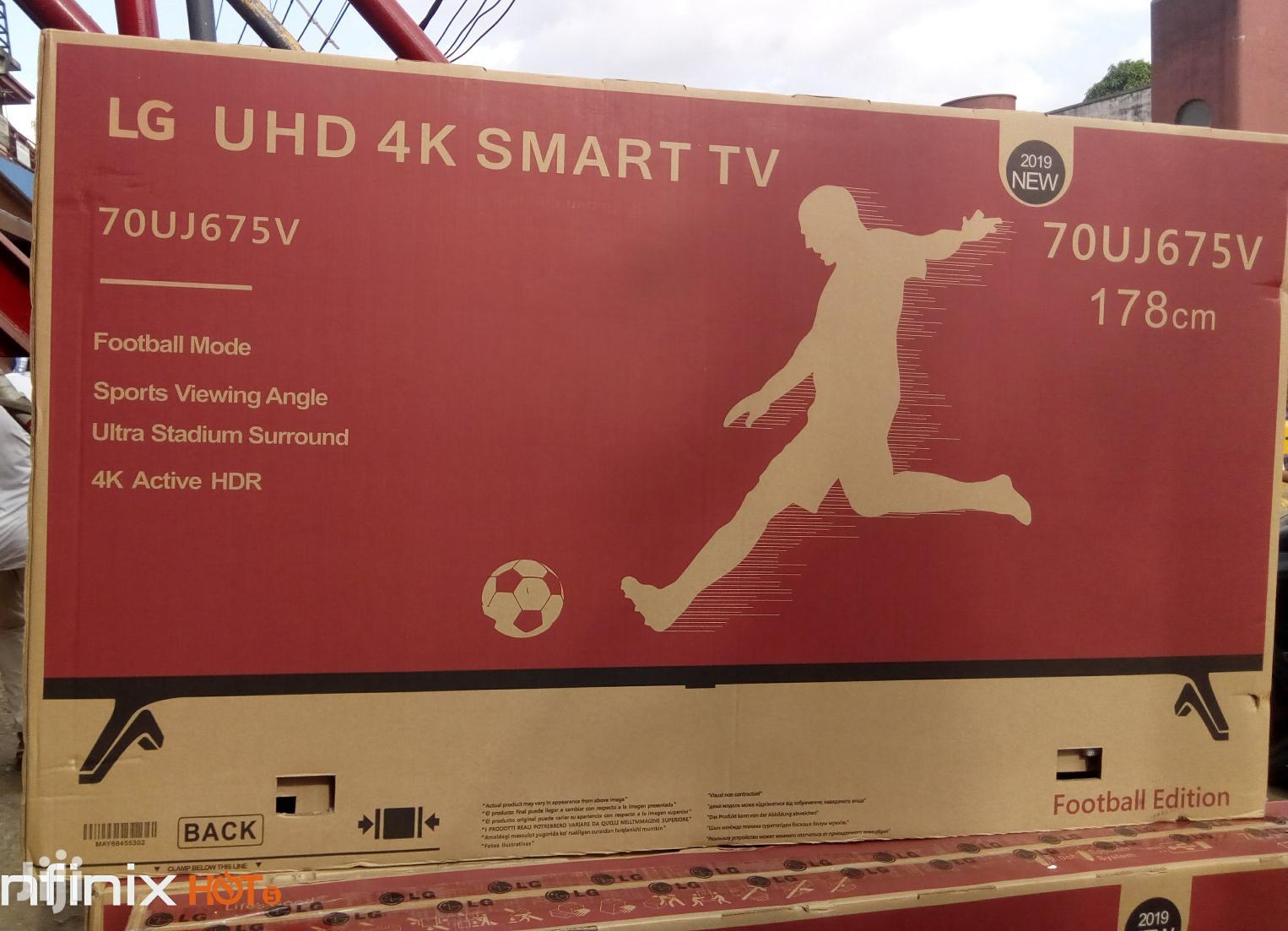 "LG Smart Internet Uhd 4K Fullhd TV 70""Inches"