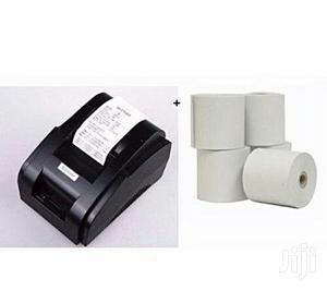 Xprinter 58mm Thermal Receipt POS Printer + 5 Rolls Paper | Store Equipment for sale in Lagos State, Ikeja