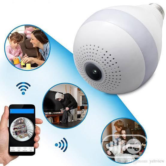 Wifi Bulb Panoramic Cctv Camera And Installation