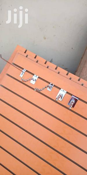 MDF Slat Wall Display Pannel/ Slotted Panel | Store Equipment for sale in Lagos State, Lagos Island (Eko)