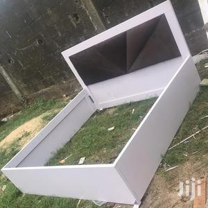 Available Bed Frame 6x6 With 2bedside Drawer | Furniture for sale in Lagos State, Ikeja